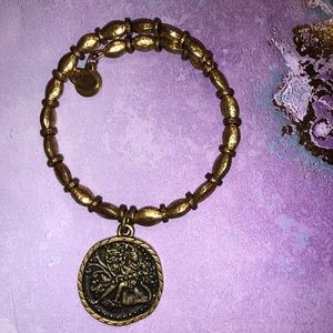 Alex and Ani Saraswati bangle